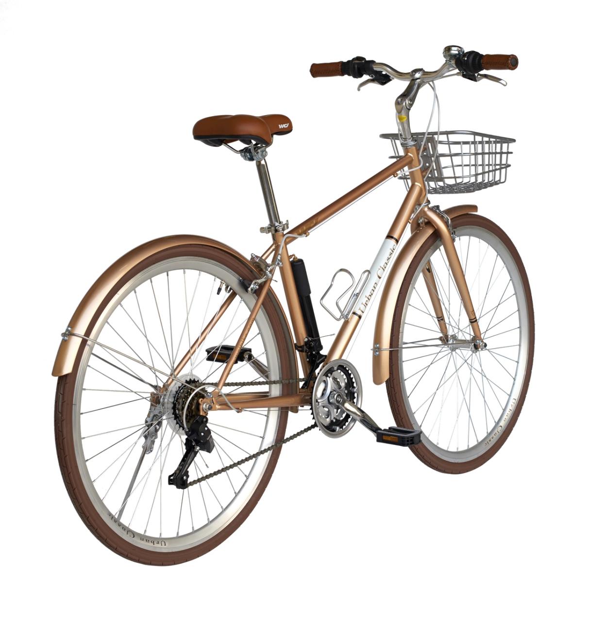 จักรยานไฮบริด วินเทจ WCI Urban Classic